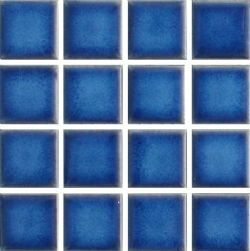 Waxman CG-444 Baltic Blue - Ceramic Pool Tiles - 10 Sheet Pack
